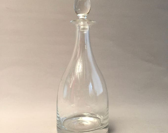 Dartington Crystal decanter