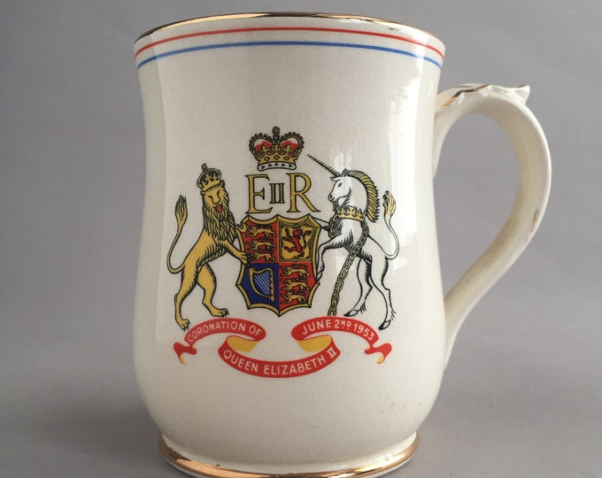 Royal mug made by Wade