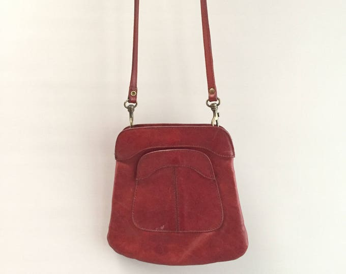 Little leather cross body bag