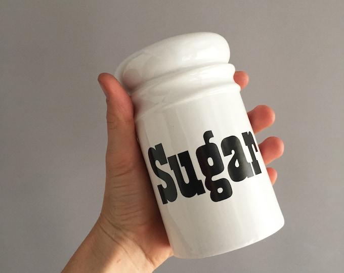 Sugar and flour shaker by Arthur Wood England