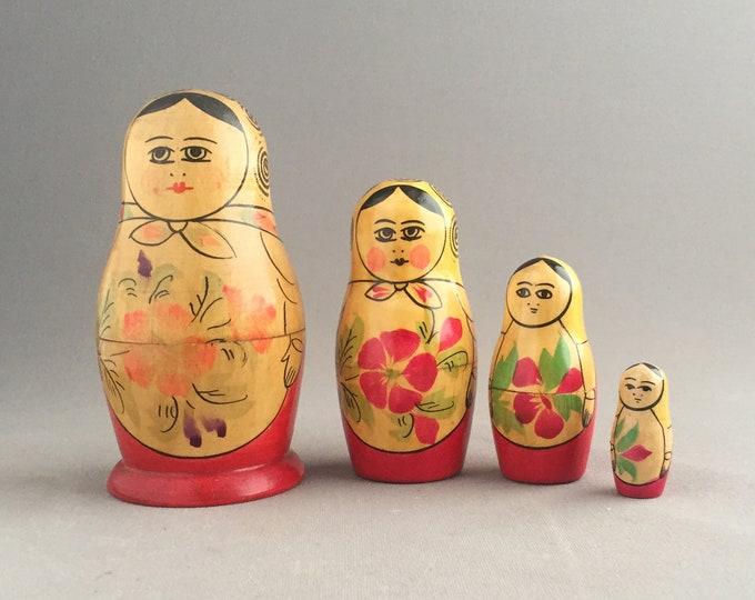 vintage Matryoshka doll