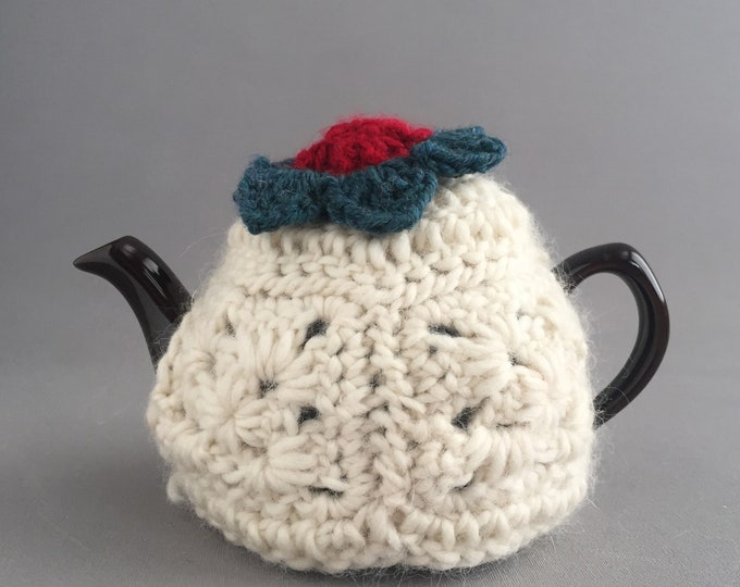 little tea pot and cozy