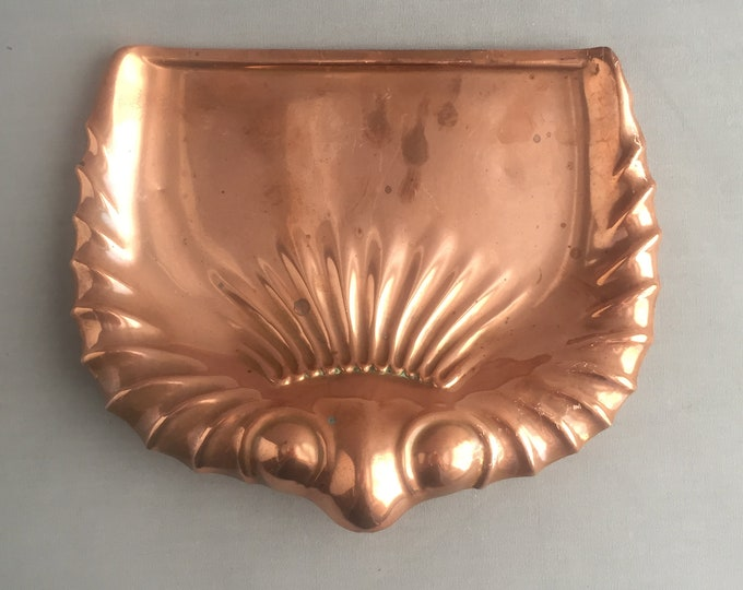 Antique copper crumb tray
