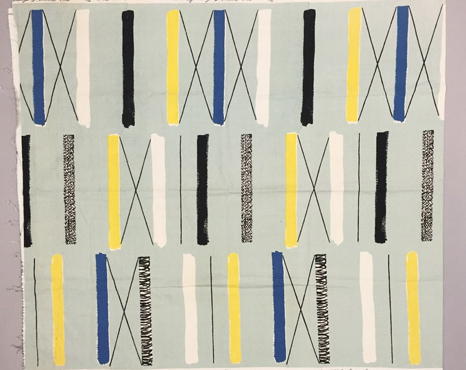 Lucienne Day ' Mezzanine ' Fabric panel
