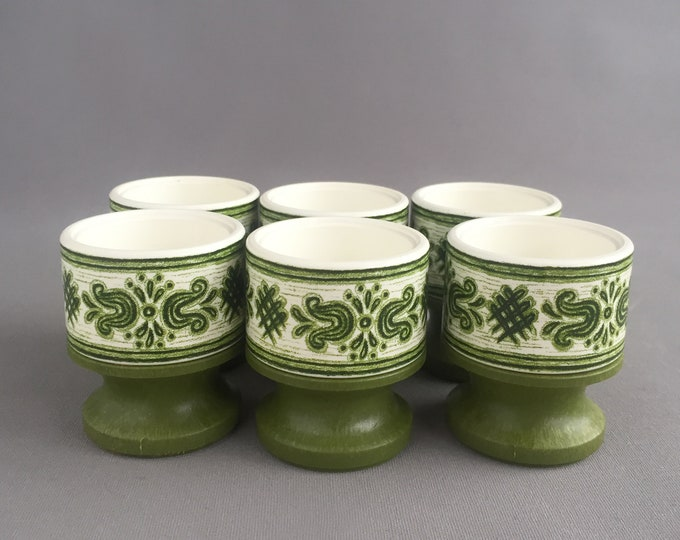 1960s boxed egg cups