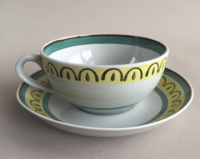 Arabia Tea cups and saucer x 6