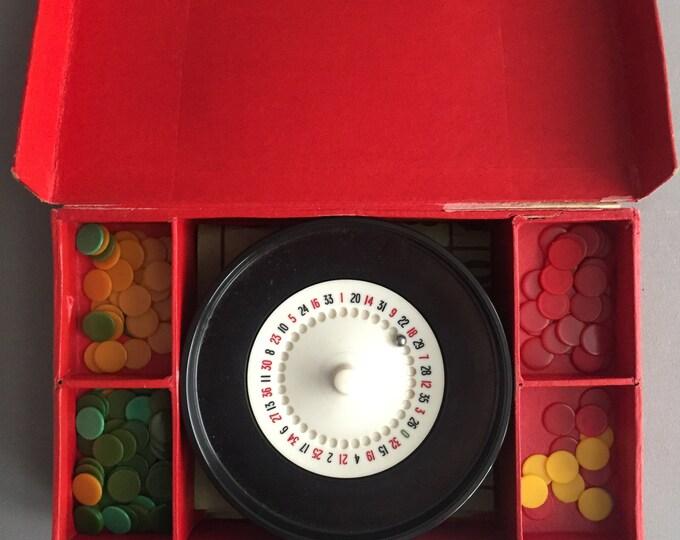 1950s Roulette set