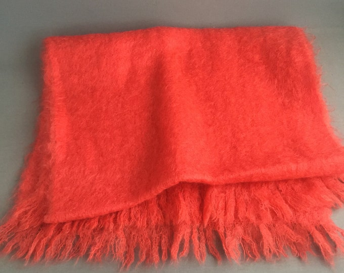 Large mohair shawl