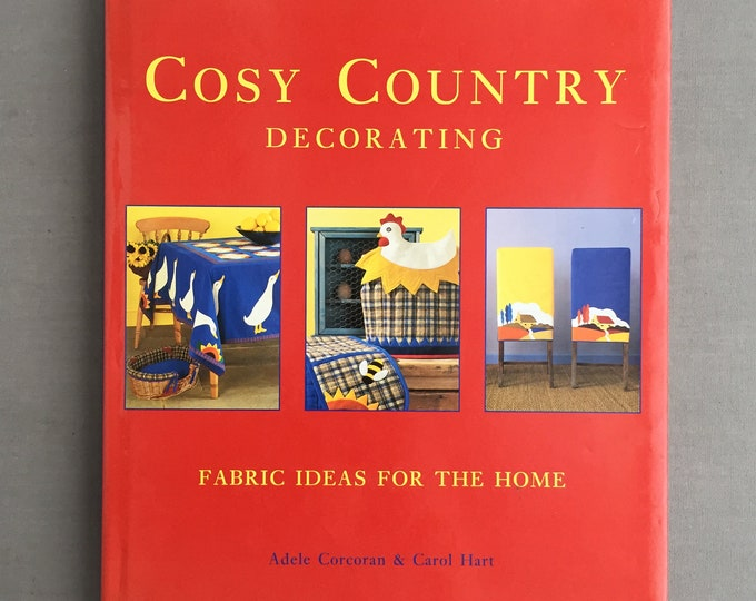 Cosy country book on quilting