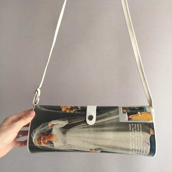 1970s magazine bag clutch