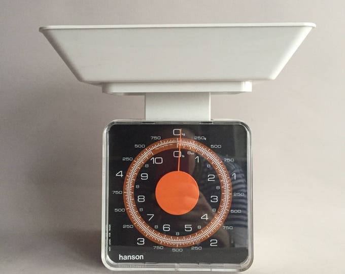 Kitchen scale 1970s