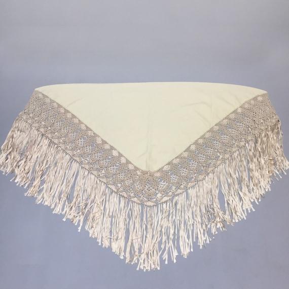 wool piano shawl