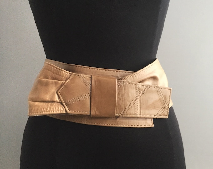 Loewe 1980s leather  belt