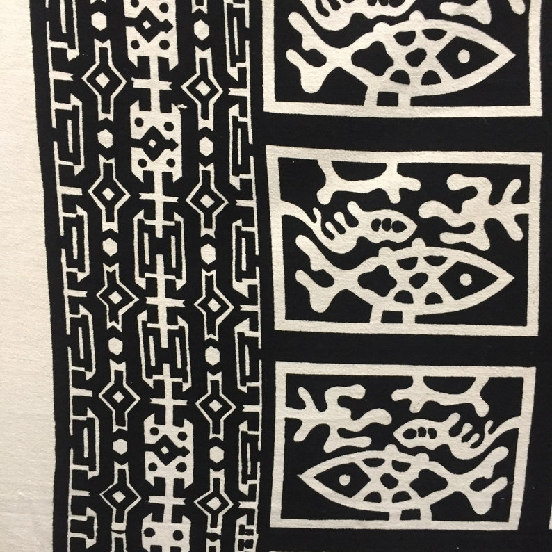 Block printed monochrome indian cotton throw