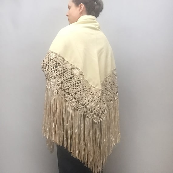 wool piano shawl - image 10