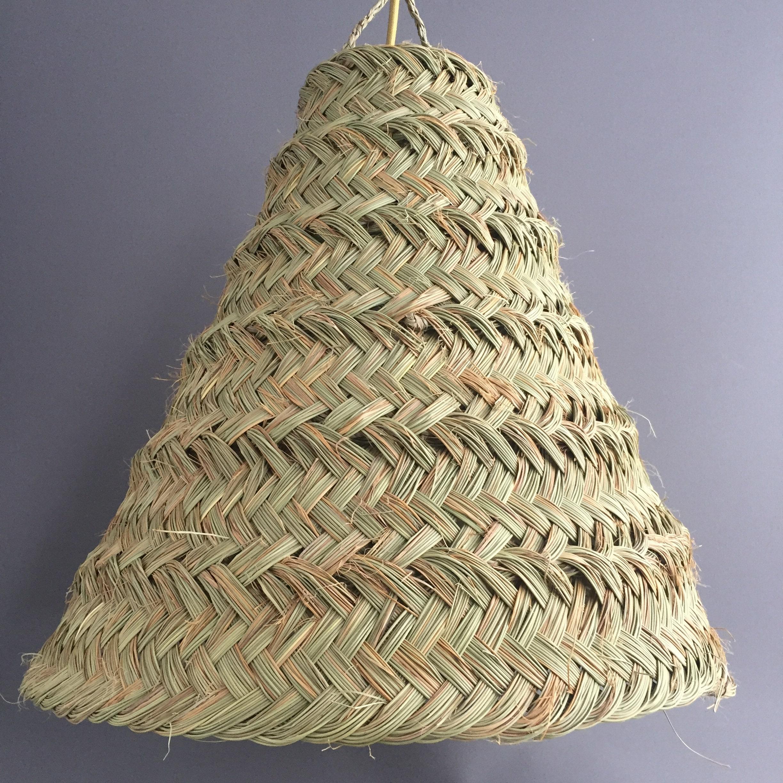Conico tessuto paralume
