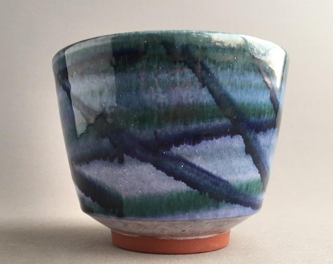 Guernsey studio pottery plant pot