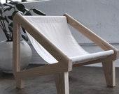 modern lounge chair . accent chair . sling chair . minimalist . chair . midcentury modern . bohemian . chair . modern lounge chair