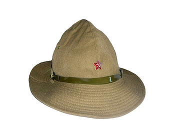 Russian Army Soviet summer military original panama boonie hat Afganka