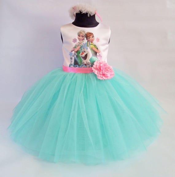 485e665c663d2 Beautifull Elsa And Anna Dress, Frozen Party Dress, Frozen Birthday Dress,  Birthday Outfit