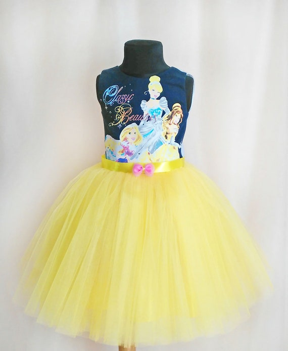 Princess Party Dress, Disney Party Outfit For Girls