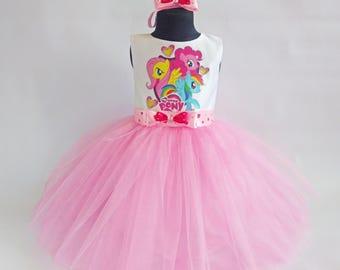 My Little Pony Pink Dress, My Little Pony Birthday Outfit, My Little Pony Set