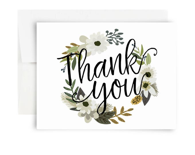 Thank You Cards A Fox Her Hound