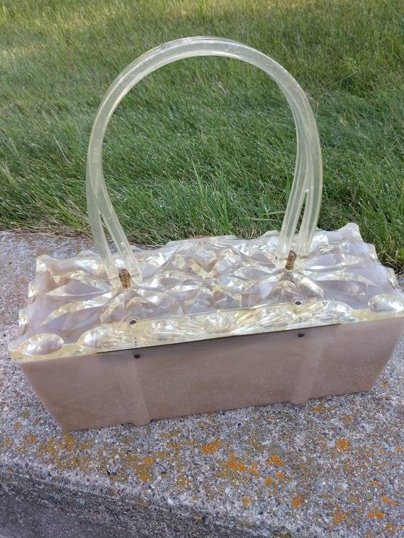 Lucite purse 1950's