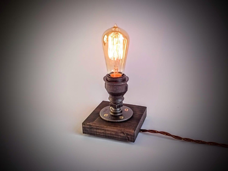 Edison Lamp Steampunk Lamp Table Lamp Industrial Lighting