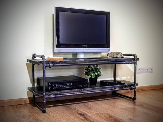 Console Tv Media Console Meuble Tv Meuble Tv Table Tv Etsy
