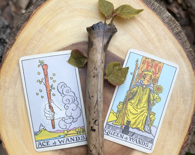 Ace of Wands, Altar Wand, Divination, Manifestation