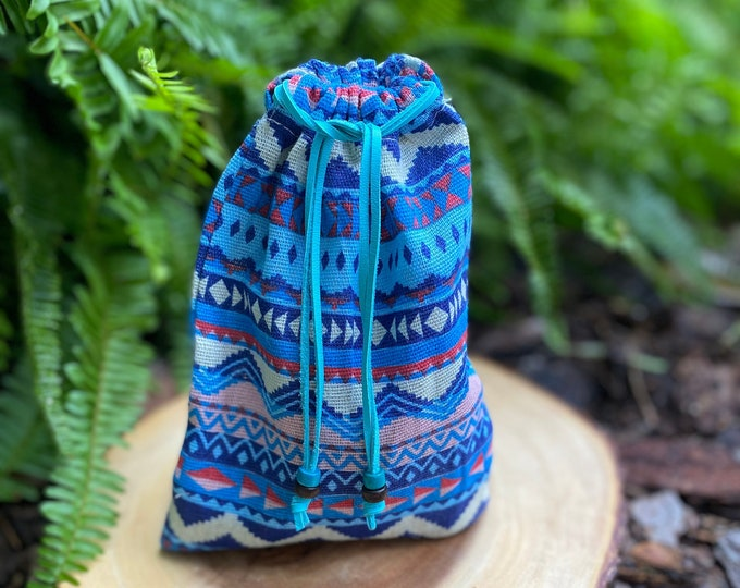 Spacious Ceremonial Tool Bag, for Oracles, Tarot, Crystals, Totems and More