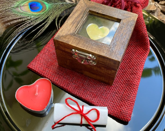 Heartbreak/Grief Box, use for Shadow and Soul Retrieval Work