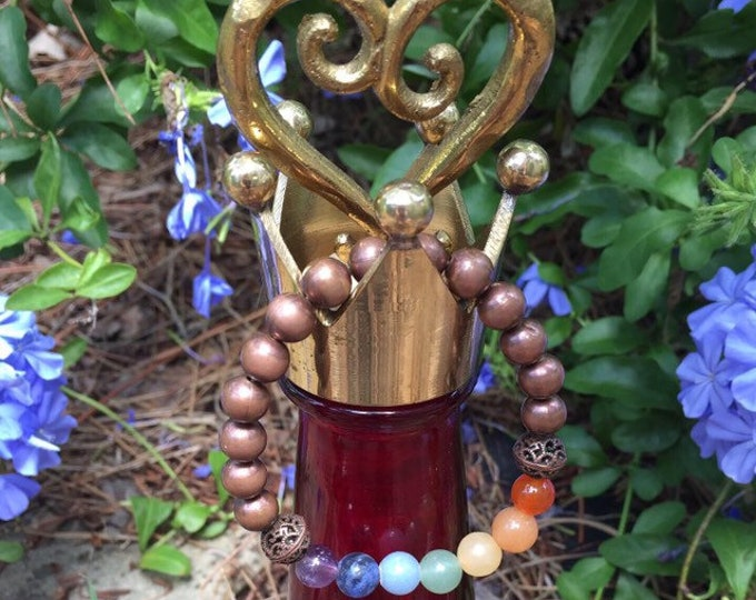 Healing, Amplifying and Balancing Copper Chakra Bracelet