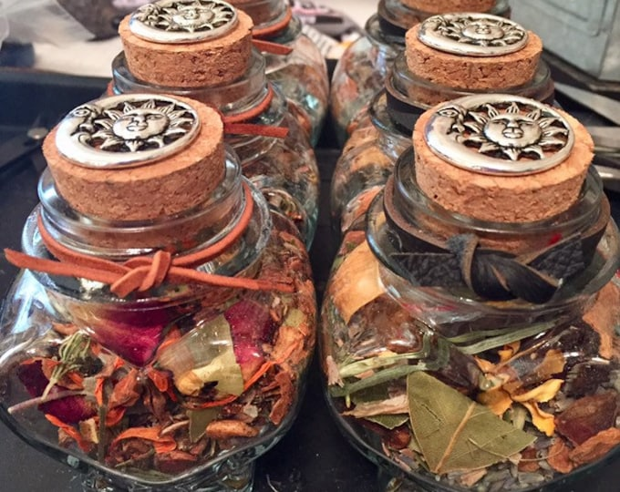 Floral and Herb Blend  | Ritual | Energy Clearing | Spiritual Cleansing