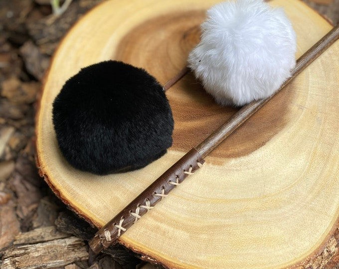 Fur Ball Cat Toy Attachment