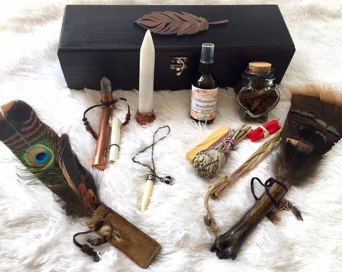 Shaman Healer Wooden Box Set