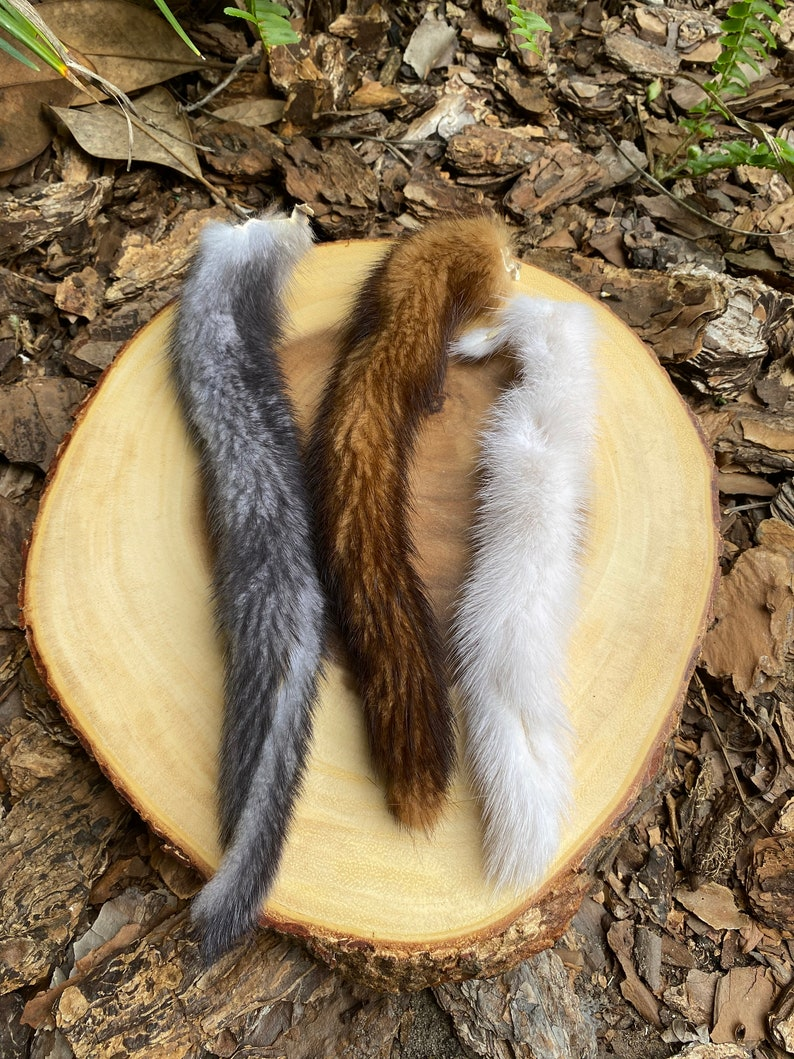 Mink Tail Cat Toy Attachment image 0