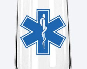 Sticker 'paramedic '.