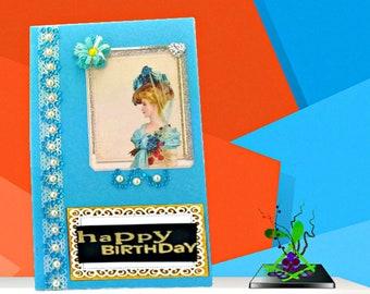 Birthday boxes. Presentation box. Handmade card box. Mum birthday box. Mothers day gift. Girlfriend gift box. Family photo box. Gift box.