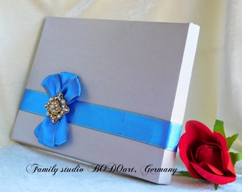 Luxury gift box for him. Silver gift box for groom. Birthday card box. Card box for husband. Card box for boyfriend. Anniversary card box.