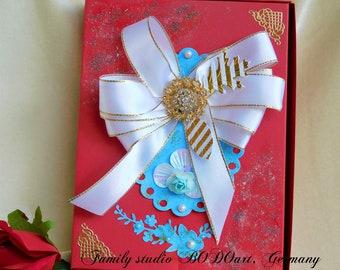 Gift photo box. Memory gift box. Gift box for men. Photo packaging. Photo keepsake box. Gifts for dad. Presentation box. cute card box.