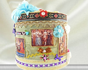 """Keepsake box for boys """"The 3 Musketeers"""". Royal Birthday gift for boys and kids with unique embellishments and luxury wrapping. Personalized"""