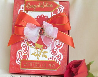 Card box. Wedding card box. Wedding gift box. Gift wrapping. Gift photo box. Gift box for bride. Gift box for wife. Best friend gift box.