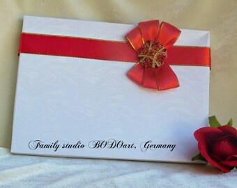Wedding card box. Wife gift box. Card box. Card holder. Photography box. Honor box. Gift card box. Keepsake paper box. Appreciation box.