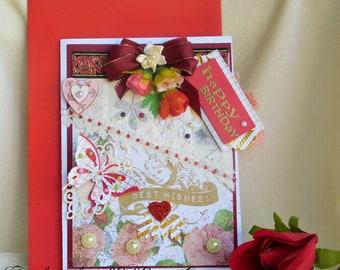 Gift for sister. Sister Birthday card. Little sister. Best friend Birthday. Birthday gift. Cute sister card. Card for her. Card for wife.