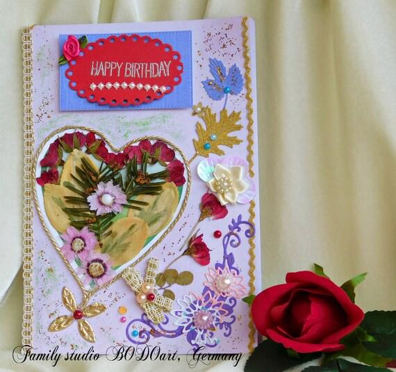 Happy Birthday Cards Mom Wife Card