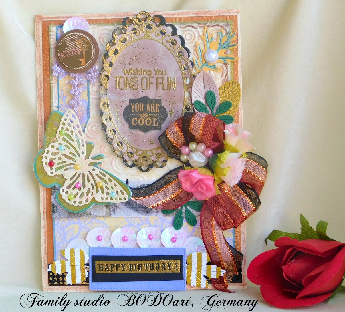 Birthday Card Special 3d Greeting Card For Girlfriend Fiancee