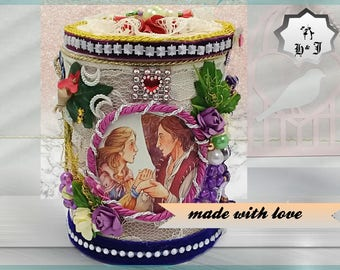 Keepsake box Rapunzel. Princess gift box. Wonderland decor. Gift box girls. Kids gift box. Girls birthday gift. Teen girl gift. Magic box.
