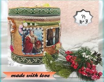 Fairy gift. Birthday gift kids. Elves. Gift basket kids. Mystery box. Trinket box. Children gift. Fairy gift. Fantasy box.  Toy box.